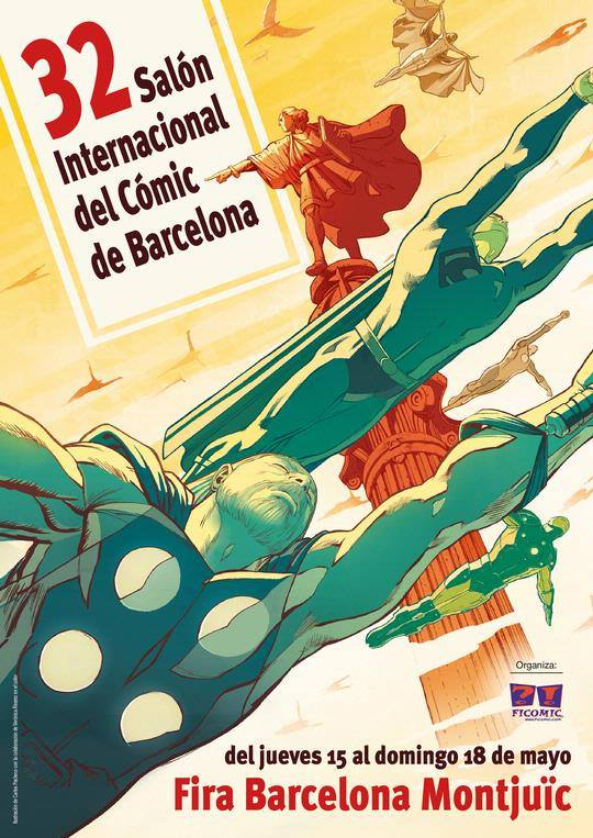 Cartel del 32 Salon Comic Barcelona