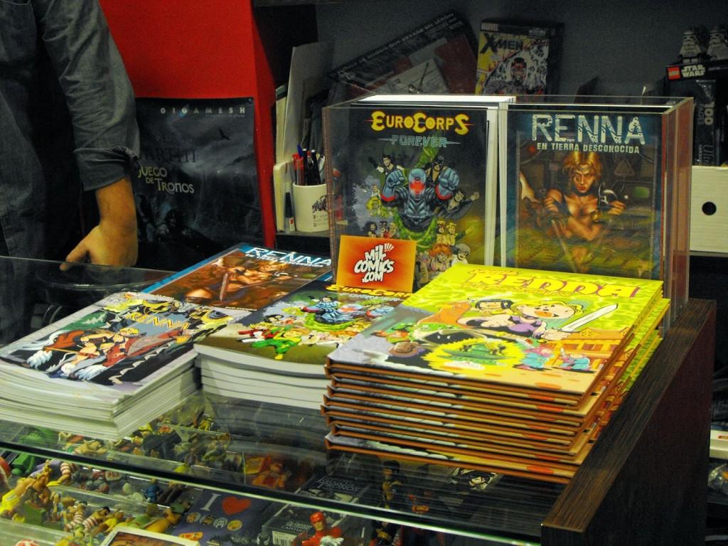 Comics a la venta en Milcomics.com - Foto de Caesar e Isa