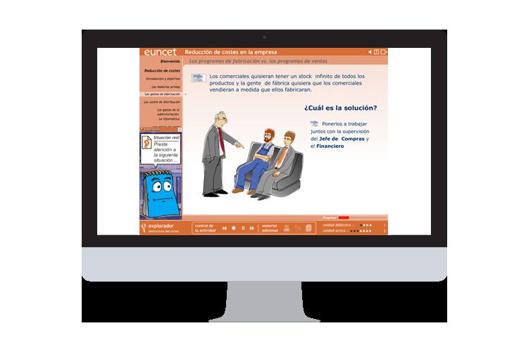Servicios (destacados) - E-learning