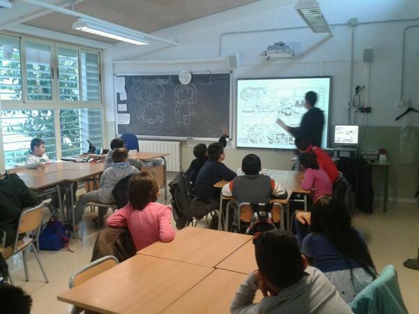 "Talleres Lecxit con Little Renna - Escola ""El Carmel"""