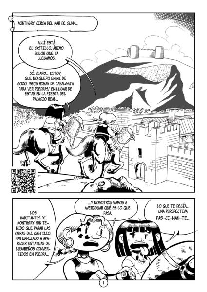 Página 1: Little Renna y el desafío de la gorgona