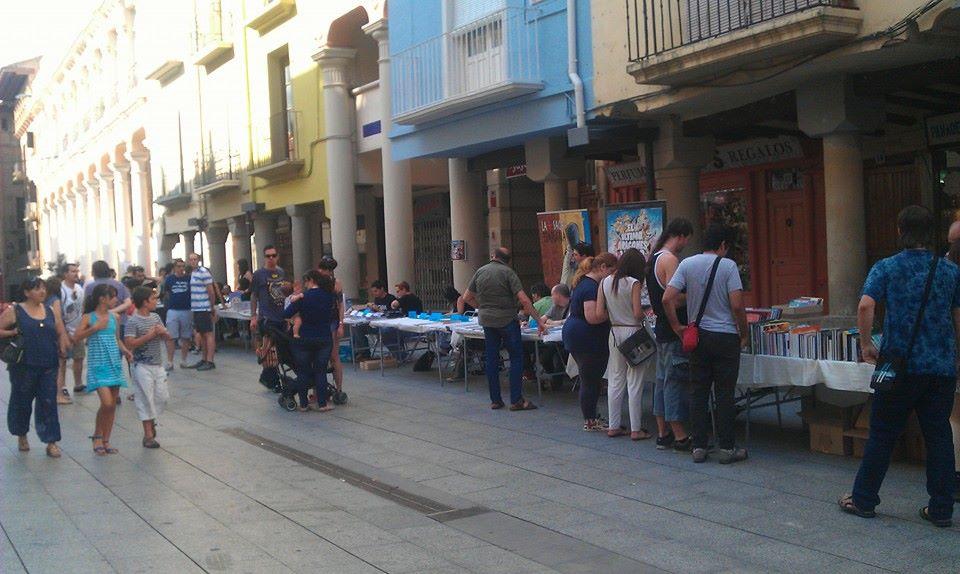 Plaza del Mercado de Barbastro