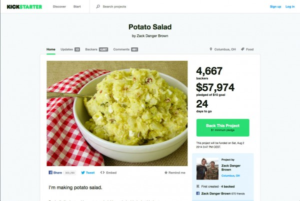 Kickstarter - Potato Salad