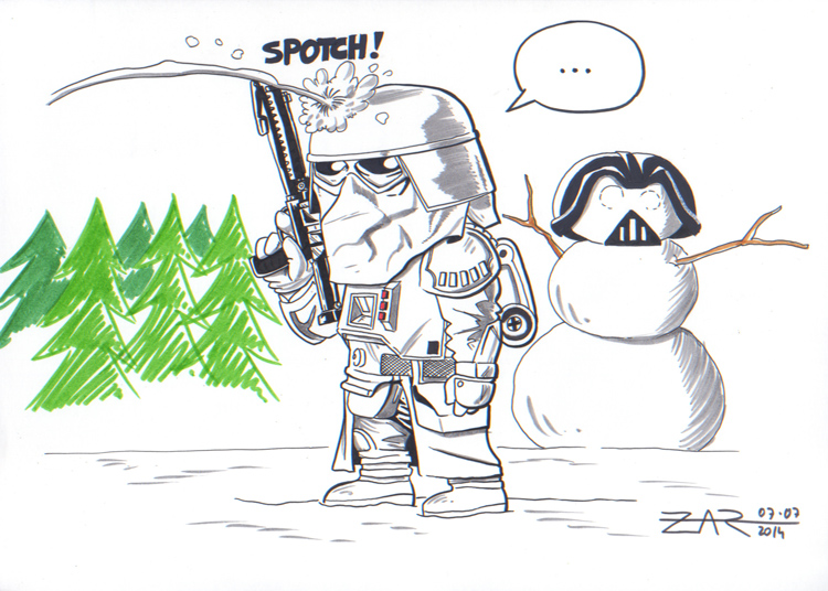 Snowtrooper in Hoth