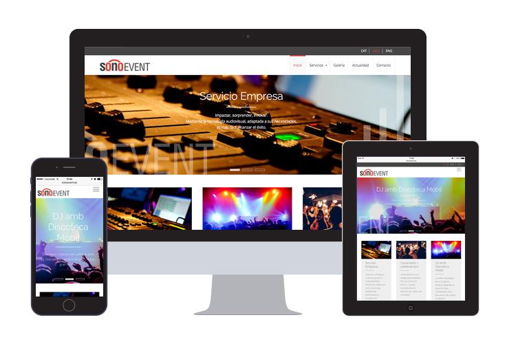 Trabajo - Sonoevent - Programación web