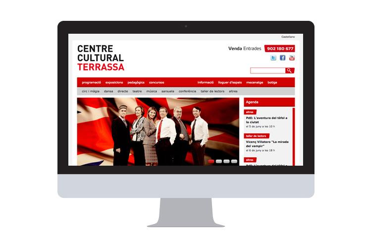 Trabajo - Web - Centre Cultural Terrassa