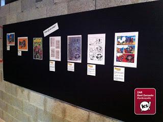 Bastim - Una parte de la exposición dedicada a Little Renna.