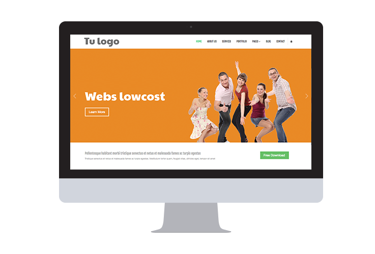 Servicios (destacados) - Webs lowcost