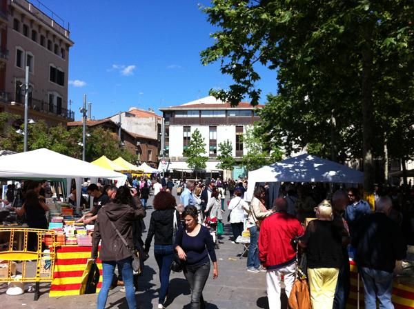 Sant Jordi 2014 - Plaça Vella - Terrassa