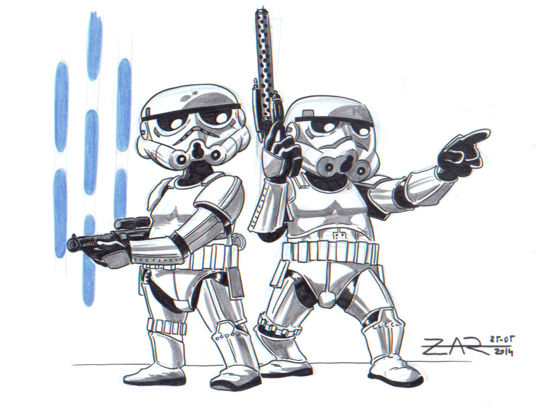 Little Storm Troopers