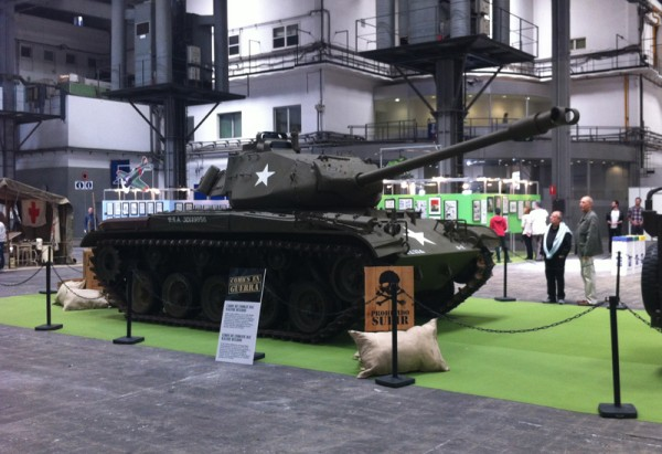 Tanque de la 2ª guerra mundial