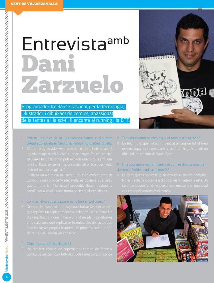 Viladecavalls Informa: Entrevista página 1